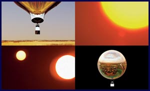 new horizon a multifaceted hot air balloon art event photo