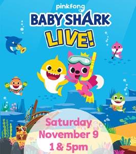 baby shark live photo