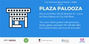 plaza palooza at boston city hall photo