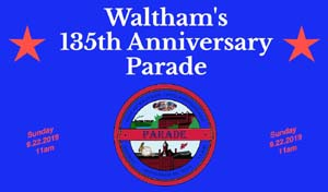 waltham 135th anniversary parade photo