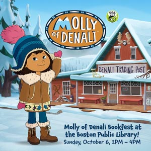 molly of denali bookfest at bpl copley branch photo