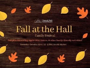 fall at the hall family festival at faneuil hall date change photo