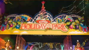 holiday in the park at six flags photo