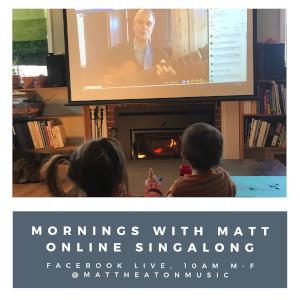 matt heaton virtual sing-a-long photo