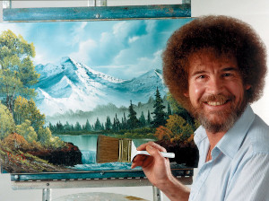 watch bob ross 'joy of painting' shows on youtube photo