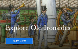 a sailor's life for me dynamic virtual game from uss constitution photo