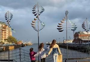 wow wind on water public art exhibit photo