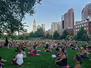 free fitness classes on the greenway photo