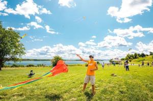 free kite fridays at spectacle island photo