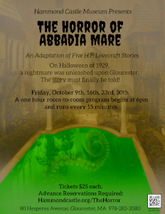 the horror of abbadia mare an adaptation of five hp lovecraft stories photo