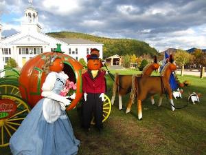 return of the pumpkin people in jackson nh photo