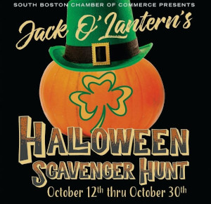 jack olanterns halloween south boston scavenger hunt photo