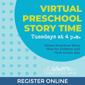 virtual preschool story time with cambridge public library photo