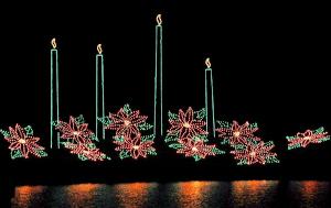north shore holiday lights show photo