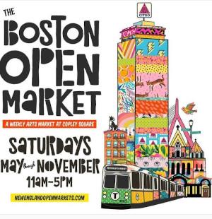 boston open market at copley square photo
