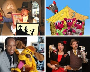 family puppet comedy festival with puppet showplace photo