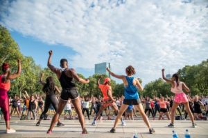 river fit summer fitness series on the esplanade photo