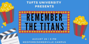 outdoor movie night at tufts university back to the future photo
