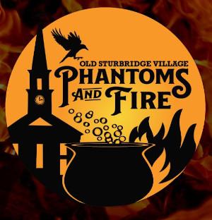 phantoms and fire at old sturbridge village photo