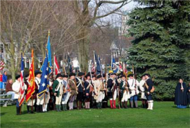 Concord Patriot's Day Battle Reenactments 2019