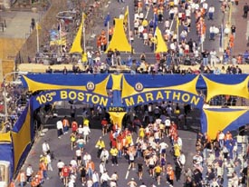 the boston marathon 2020 photo