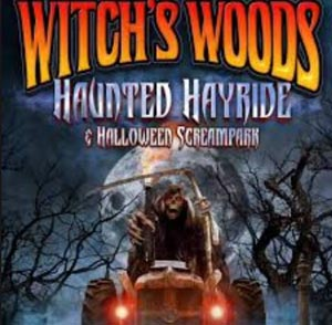 witch's woods screampark  haunted hayride 2020 photo