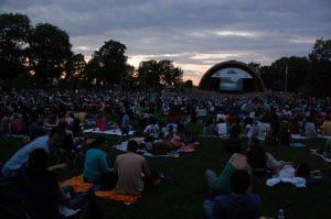 Free Friday Flicks at the Hatch Shell Boston 2017