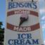 benson's home made ice cream small photo